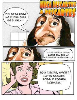"""Nunca descartes a Descartes"" Fobiosofía: Stand up philosophy"