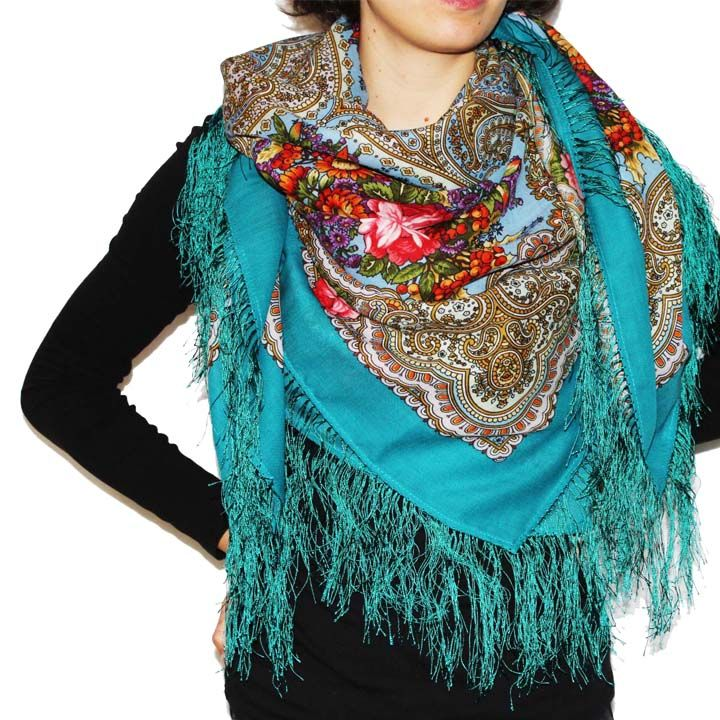 334 best Russian- Shawls & Scarves images on Pinterest ...