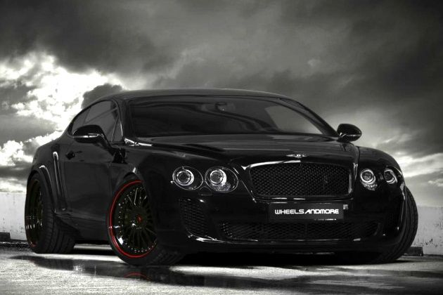 Wheelsandmore Bentley Continental Ultrasports 702: Clunky name, sinister car