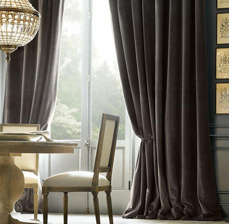 diseno estupendo cortinas opacas grises