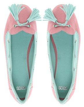 LOVEBOAT - Chaussures bateau avec cœur