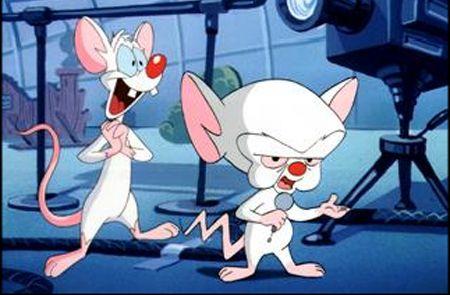 Saturday Morning Cartoon: Pinky and The Brain