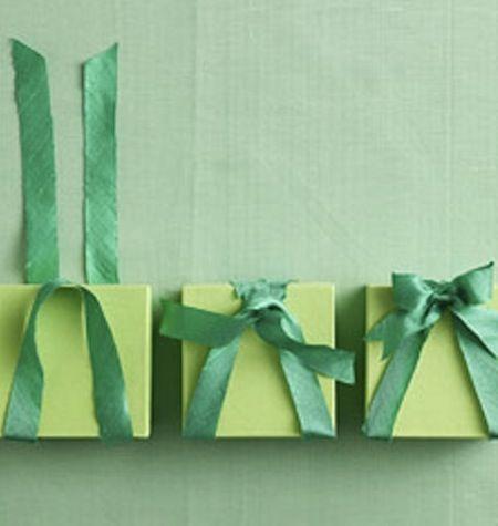 martha stewart wedding gift wrapping ideas