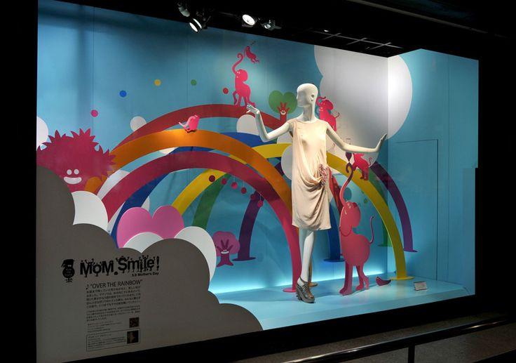 "SHINJUKU Department Store, Tokyo, Japan, ""Isetan Mother's Day"", pinned by Ton van der Veer"