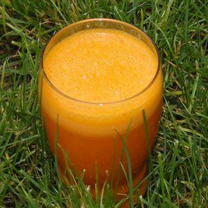 Recept na výtečné mrkvové smoothie - výčet potřebných surovin, postup přípravy, přehled nutričních hodnot, vitamínů, minerálů a stopových prvků