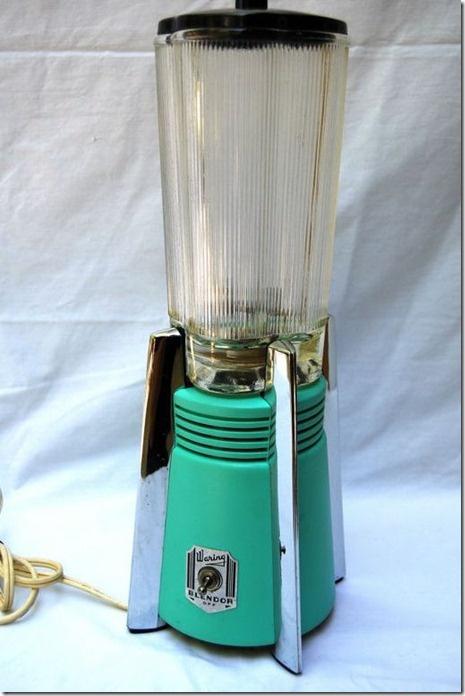 Vintage Waring Turquoise Blender