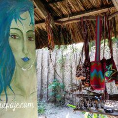 Mochilas Wayuu. Palomino, Guajira, Colombia. Travel by ligeradeequipaje.com