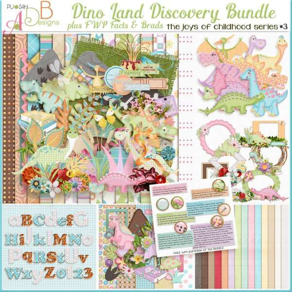Collections :: J :: Joys of Childhood by ADB Designs :: Dino Land Discovery Bundle