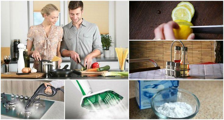 10 trucos para limpiar tu cocina: ¡déjala reluciente! | Decoración