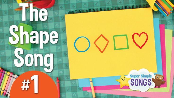 The Shape Song #1 | Super Simple Songs | For more kindergarten videos visit: https://www.pinterest.com/eclearning/kindergarten-videos/