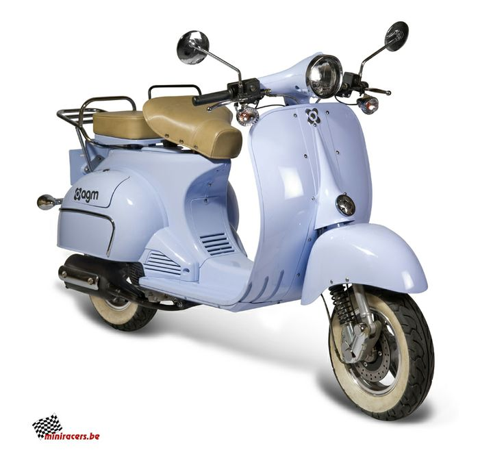 Miniracers.be - 49cc Vespa Scooter
