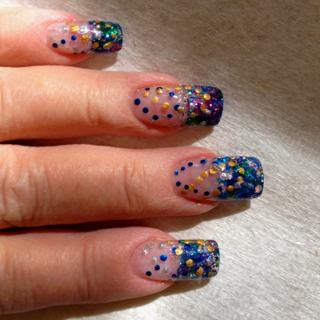 138 best NAILS-Mardi Gras images on Pinterest | Mardi gras, Nail art ...