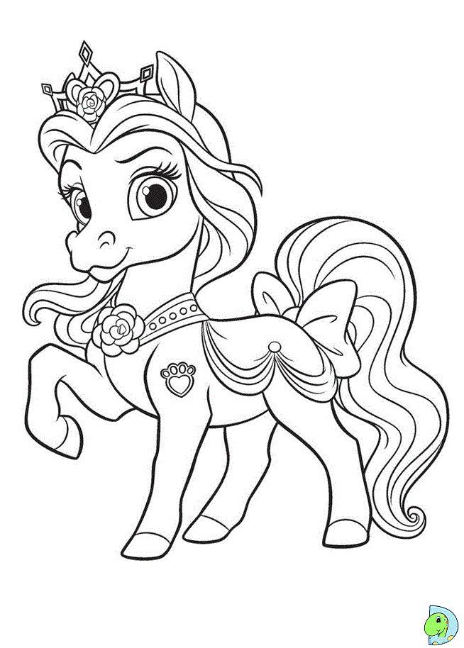 Veja mais ideias sobre unicornio para colorir, colorir, unicórnio. Dinokids - Desenhos para colorir: Desenhos de Palace Pets