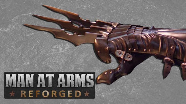 Batman's Wolverine Claws - MAN AT ARMS: REFORGED My friends at Baltimore Knife and Sword up the ante!