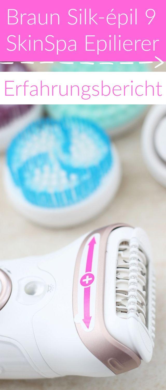 #Anzeige Braun Silk-épil 9 Epilierer mit vielen verschiedenen Aufsätzen für schmerzfreies nass / trocken Epilieren. Mein Erfahrungsbericht gibt es auf dem Blog.