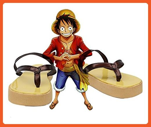 One Piece Anime Monkey D Luffy Cosplay Shoes Boots Custom Made - Sneakers for women (*Amazon Partner-Link)