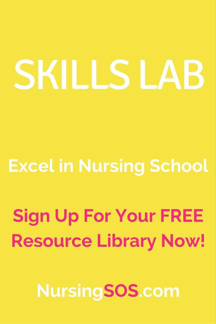 Medical abbreviations taco - Nursing School Skills Lab Tips Excel In Your Nursing Skills And Clinical Skills Click