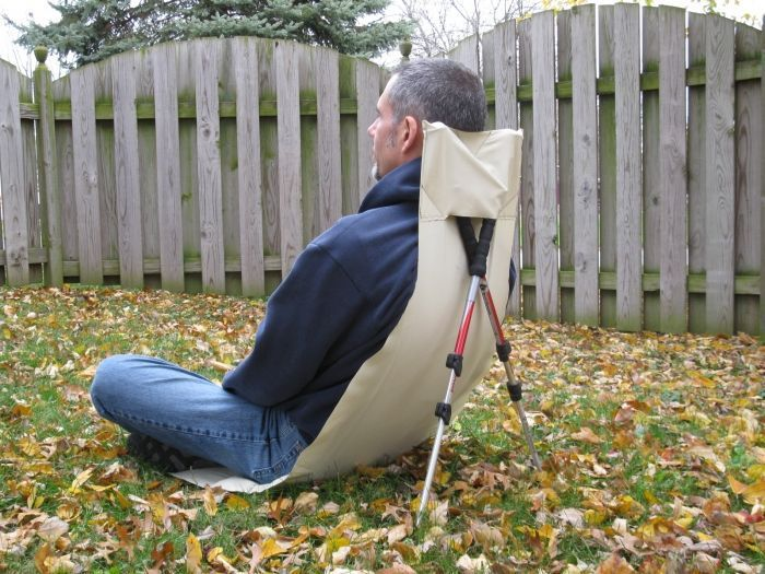 Ultralight Chair/Groundsheet: Many uses of Tyvek: Ultra Light Ultralight Hiking, Ultralight Backpacking.