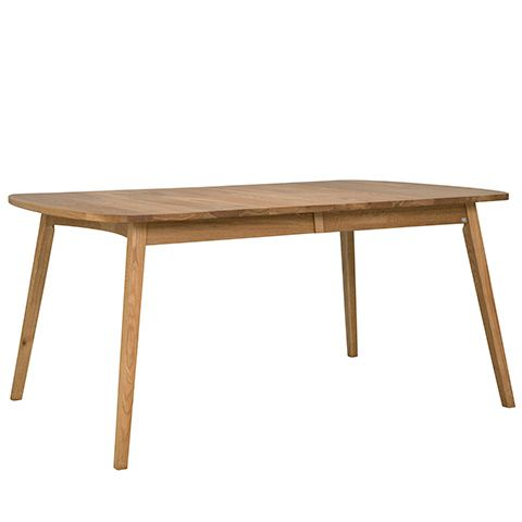 Rainbow är ett stilrent matbord i oljad massiv ek från Hans K. Det ingår en iläggsskiva som förlänger bordet till 190cm.Mått:Bredd: 90cmLängd: 142cm (+48cm)Höjd: 75cmDet finns i flera storlekar och färger i Rainbow serien.