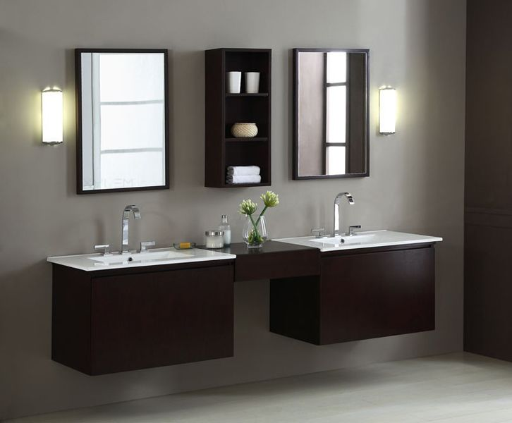 Photo Album Website BLOX inch Moduler Bathroom Vanity Cabinets Set Drawers with Vitreous China Top and Bridge W x D x H Unique modular ponent system