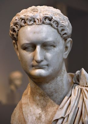 Domitian (close-up). Marble. Ca. 90 CE. Inv. No. I.2015.40. New York, the Metropolitan Museum of Art. (Photo by I. Sh.).
