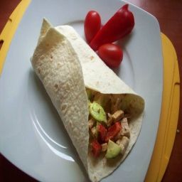 Tortilla se šmakounem mexico