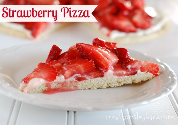 Strawberry Cheesecake Fruit Pizza: A perfect summer dessert when fresh ...