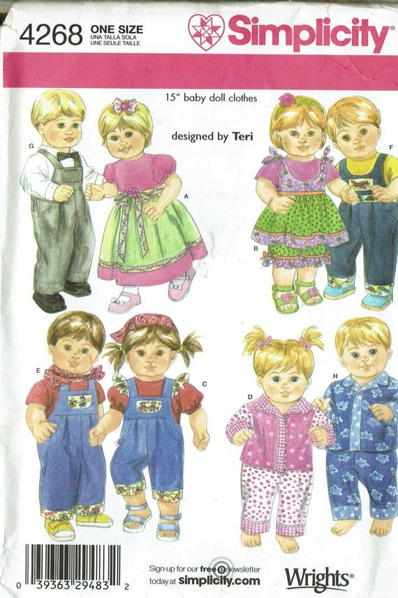This Pattern Is For Dresses For 15 Girl Dolls Such As Bitty Baby Our Generation Lissi My Sweet Love Twins So Truly Mine Are Just Ropa Antigua Picasa Felpa