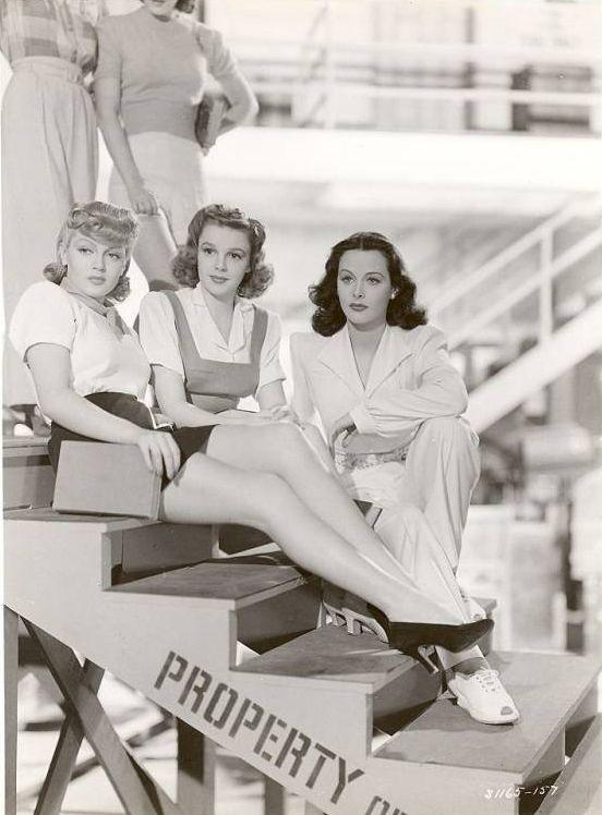 Lana Turner, Judy Garland & Hedy Lamarr