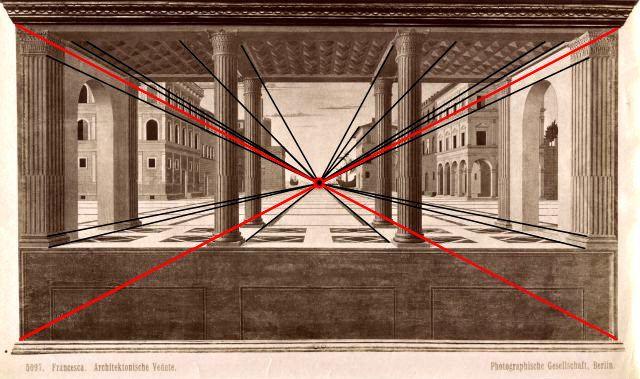 La Città ideale di Berlino non è di Simone di Giorgio Martini ne di Giuliano da Sangallo ma di Luciano Laurana ed è del 1470.