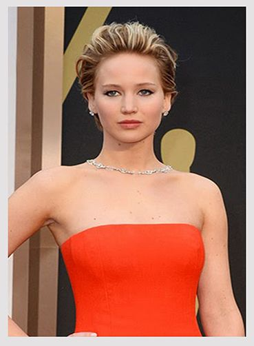 Jennifer Lawrence, recogido con volumen
