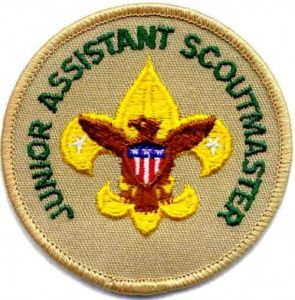 The Junior Assistant Scoutmaster is a youth member of a Boy Scout troop who serves in the capacity of an Assistant Scoutmaster except where legal age and maturity are required. He must be at least 16 years old and not yet 18. He is appointed by the Scoutmaster because of his demonstrated leadership ability.