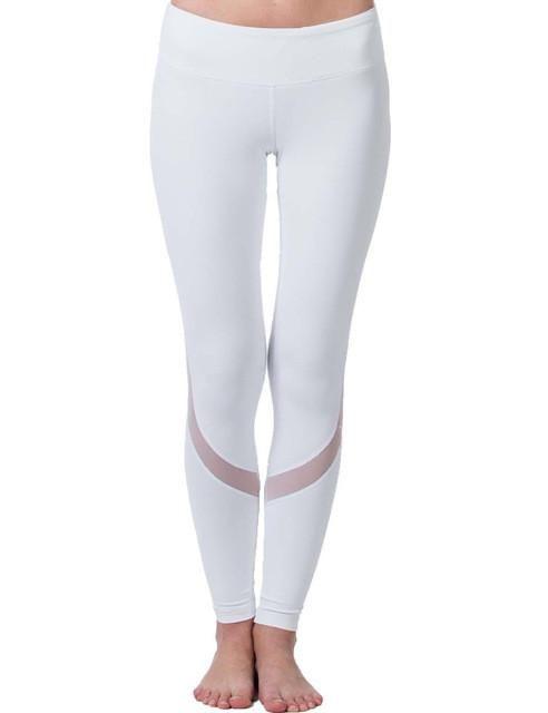 Fitness Yoga Sports Leggings For Women Sports Tight Mesh Yoga Leggings