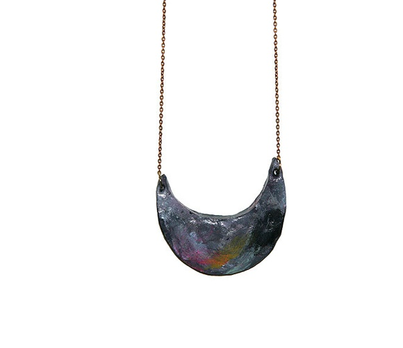 Space Necklace: Fat Lazy, Fashion Upcycled, Spaces Necklaces, Academy Jewelry, Lazy Insects, Unique Necklaces, Clothing Fashion