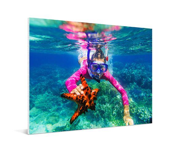 La forme la plus élégante de limpression de photo votre photo sur plexiglas