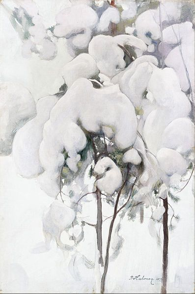 File:Pekka Halonen - Snow-Covered Pine Saplings - Google Art Project.jpg