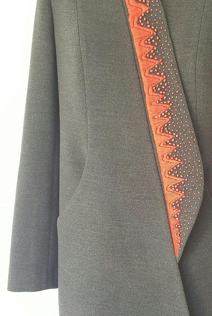 #mskpu #embroidery #płaszcz