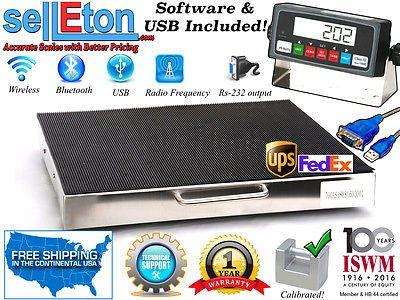 Multi-Purpose Smart Shipping Scale l 700 lbs x .1 lb l FedEx & UPS Software