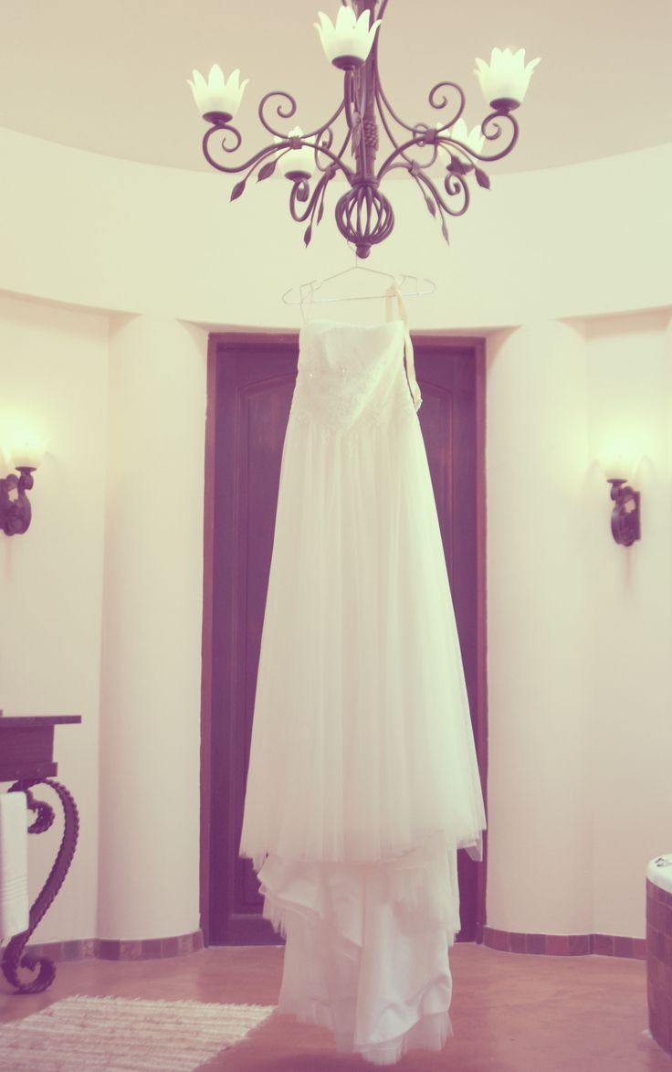 The wedding dress shot