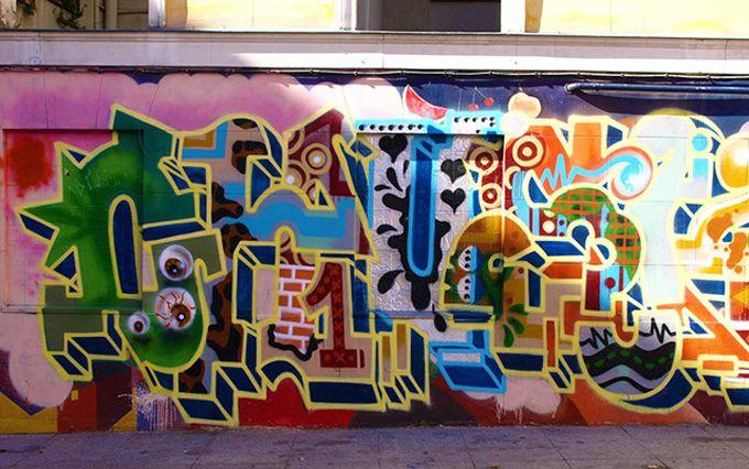 Madrid Graffiti & Street Art Gallery - Click Me
