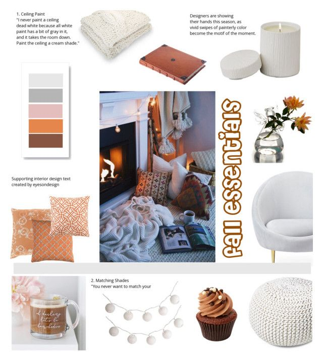 fall essentials by levai-magdolna on Polyvore featuring interior, interiors, interior design, home, home decor, interior decorating, Jonathan Adler, nuLOOM, Crate and Barrel and Global Views