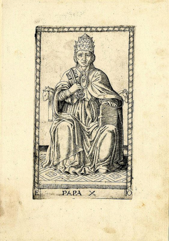002- El Papa-Tarot Mantegna-© The Trustees of the British