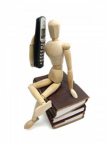 Telefon - Anruf - Kontakt - Konzeptbild