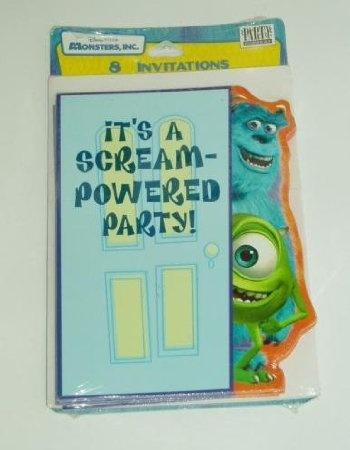 Monsters Inc Theme - Amazon.com: Disney Monsters Inc Birthday Party Invitations