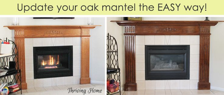 Here is a secret weapon to use when updating oak in your home! It's super easy to use and not much work at all.