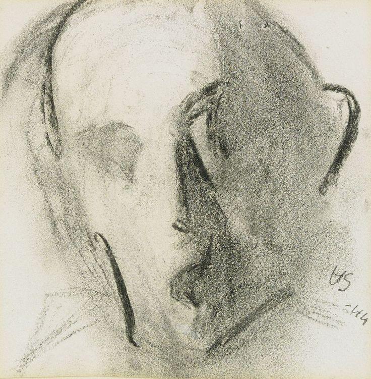 Helene Schjerfbeck - Self-portrait, 1944