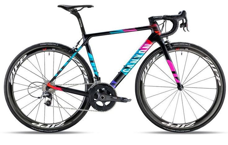 Canyon Ultimate WMN CF SLX 9.0 Team CSR http://www.bicycling.com/bikes-gear/recommended/17-for-2017-the-best-road-bikes-of-2017/slide/5