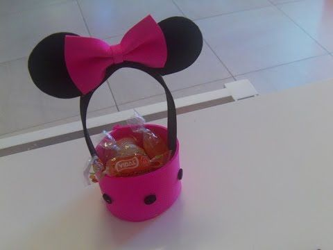 17 best images about dulceros o aguinaldos on pinterest - Manualidades minnie mouse ...