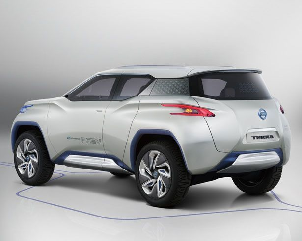 Nissan Terra Suv Concept Eco Vehicle With Modern Toughness Concept Eco Modern Nissan Suv Terra Toughness Vehicle In 2020 Futuristic Cars Suv Concept Cars