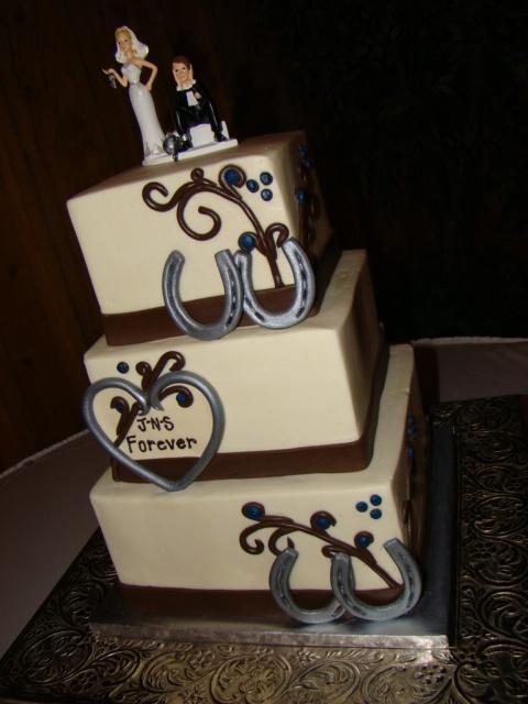 Western Style Wedding Cakes